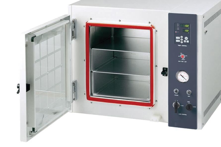 Vacuum drying chambers