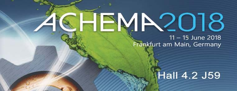 Achema 2018-The Magic Motion
