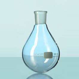 Borosilicate glass rodavis evaporating flask 29/32