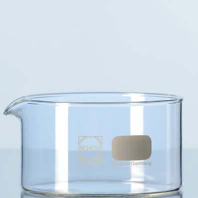 Glass oil bath